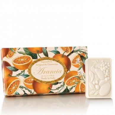 Muilų rinkinys Saponificio Artigianale Fiorentino apelsinų kvapo 3x125 g
