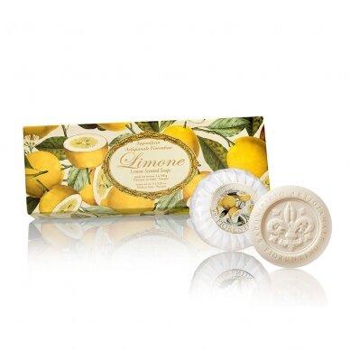 Muilų rinkinys Saponificio Artigianale Fiorentino citrinų kvapo 3x100 g
