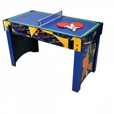 Multifunkcinis žaidimų stalas Worker 13-in-1 81x113x62 cm 2