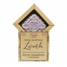 Natūralus kietas šampūnas Nimfė Levanda
