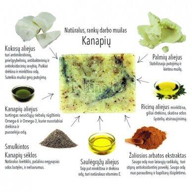 Natūralus šveitiklis Nimfė Kanapių 2