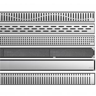 Nerūdijančio plieno dušo latako grotelės Aco ShowerDrain C 60, 70, 80, 90, 100, 110, 120 cm