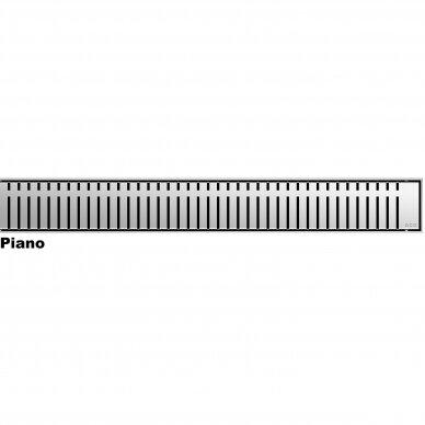 Nerūdijančio plieno dušo latako grotelės Aco ShowerDrain C 60, 70, 80, 90, 100, 110, 120 cm 7