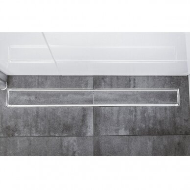 Nerūdijančio plieno dušo latako grotelės Aco ShowerDrain C 60, 70, 80, 90, 100, 110, 120 cm 8