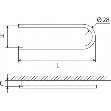 Nerūdijančio plieno gyvatukas Elonika EN 200/260/270 S/SD 4