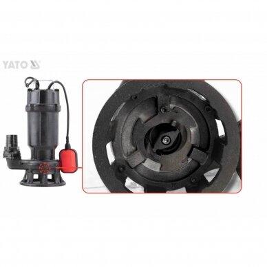 Nešvaraus vandens siurblys Yato, ketus, 750 W (YT-85350) 2