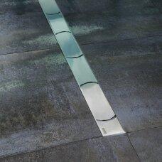 Nutekamasis dušo latakas Ravak Chrome 75, 85, 95,105 cm