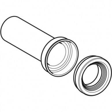 Nuotekų jungtis pakabinamam WC puodui Geberit HDPE 2