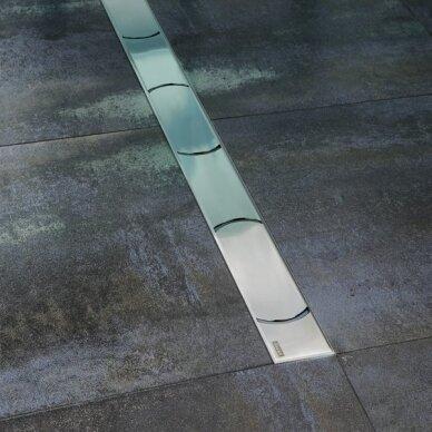Nutekamasis dušo latakas Ravak Chrome 30, 75, 85, 95,105 cm