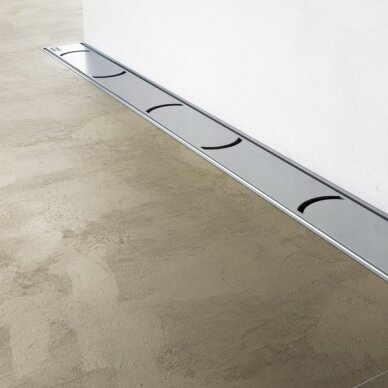 Nutekamasis dušo latakas Ravak Chrome 75, 85, 95,105 cm 2