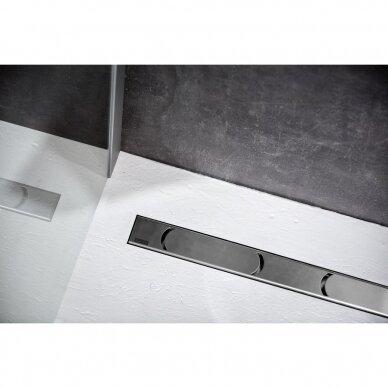 Nutekamasis dušo latakas Ravak Chrome 30, 75, 85, 95,105 cm 4