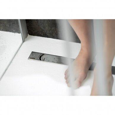 Nutekamasis dušo latakas Ravak Chrome 75, 85, 95,105 cm 5