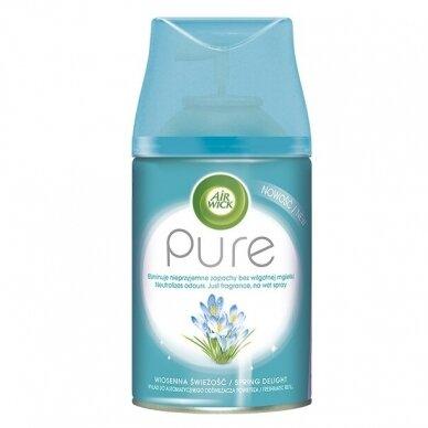 Oro gaiviklio užpildas Air Wick FreshMatic Refill Spring Delight, 250 ml