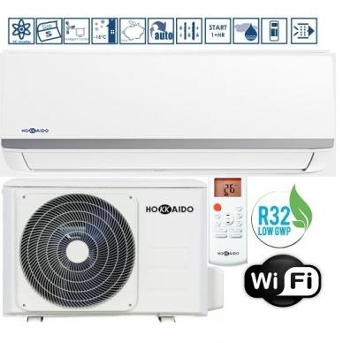 Oro kondicionierius-šilumos siurblys HOKKAIDO INAZAMI  A+++ Šaldymas 3,52KW / Šildymas 3,81 KW