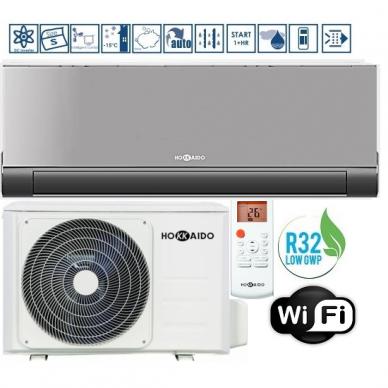 Oro kondicionierius-šilumos siurblys HOKKAIDO V-DESIGN  A+++ Šaldymas 2,64 KW / Šildymas 2,93 KW