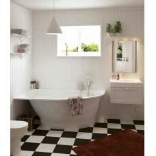 Akmens masės vonia PAA Tre Grande 170 cm