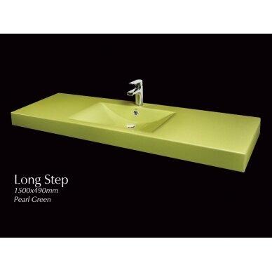 Akmens masės praustuvas PAA Long Step 150 cm 4