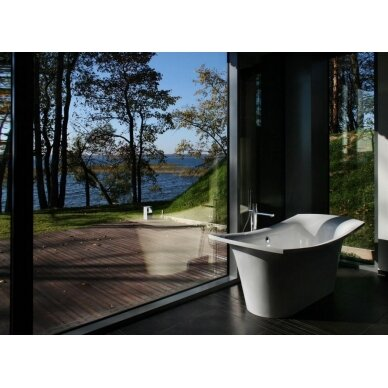 Akmens masės vonia PAA Bel Canto 180 cm 2