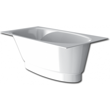 Akmens masės vonia PAA Uno 150 cm 2