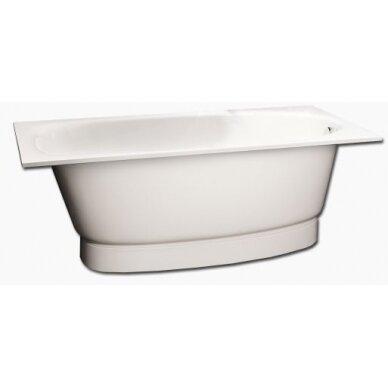 Akmens masės vonia PAA Uno Grande 170 cm 2