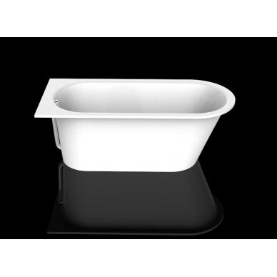 Akmens masės vonia PAA Vario Long 160-170x75 cm 2