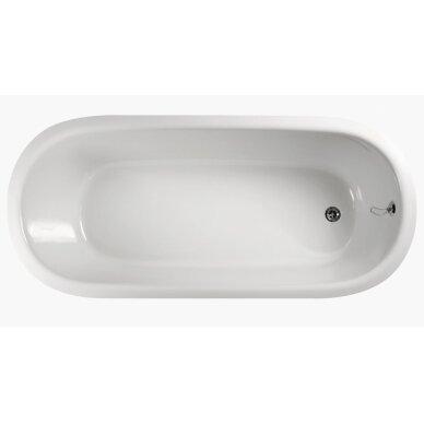 Akmens masės vonia PAA Vario Round 166x75 cm 2