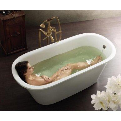 Akmens masės vonia PAA Vario Round 166 cm 2