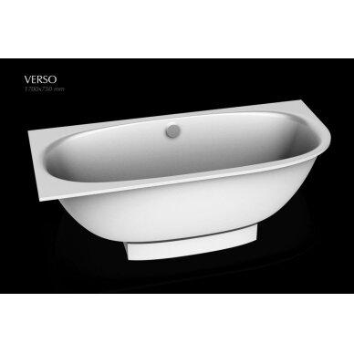 Akmens masės vonia PAA Verso 170x75 cm 4