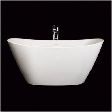 Akmens masės vonia PAA Amore 160 cm