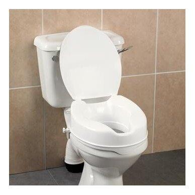 Paaukština tualeto sėdynė Savanah su dangčiu 3
