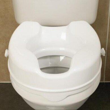 Paaukštinta tualeto sėdynė Savanah