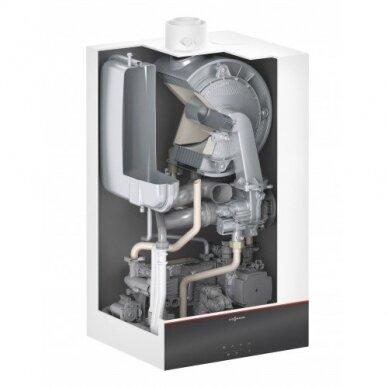 Pakabinamas dujinis katilas VITODENS 100-W 25 kW su momentiniu vandens šildytuvu, VIESSMANN, 2