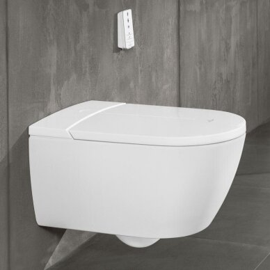 Pakabinamas unitazas Villeroy & Boch ViClean I-110 su Direct flush sistema 2