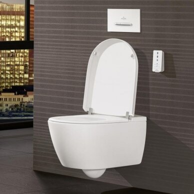 Pakabinamas unitazas Villeroy & Boch ViClean I-110 su Direct flush sistema 5