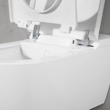 Pakabinamas unitazas Villeroy & Boch ViClean I-110 su Direct flush sistema 6
