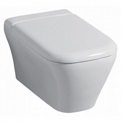 Pakabinamas WC Keramag My Day su soft close dangčiu 2