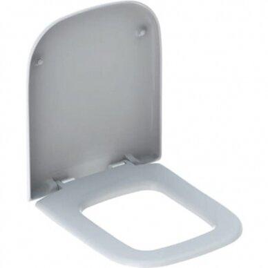 Pakabinamas WC Keramag My Day su soft close dangčiu 4