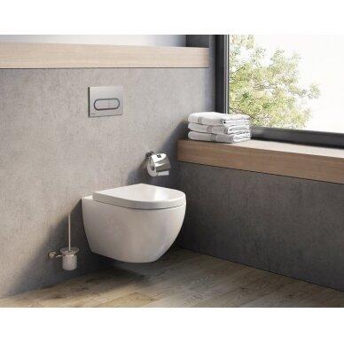 Pakabinamas WC puodas Ravak Uni Chrome Rim 3
