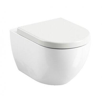 Pakabinamas WC puodas Ravak Uni Chrome Rim