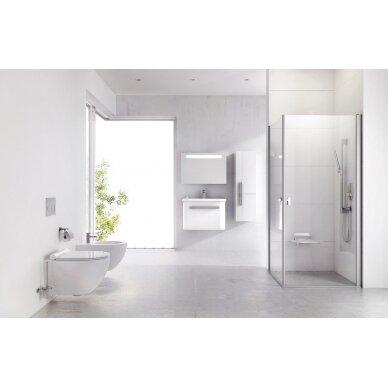 Pakabinamas WC puodas Ravak Uni Chrome Rim 10