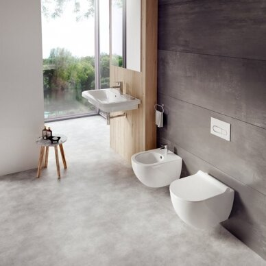 Pakabinamas WC puodas Ravak Uni Chrome RimOff 3