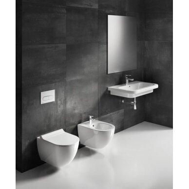 Pakabinamas WC puodas Ravak Uni Chrome RimOff 6