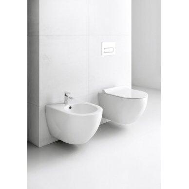 Pakabinamas WC puodas Ravak Uni Chrome RimOff 5