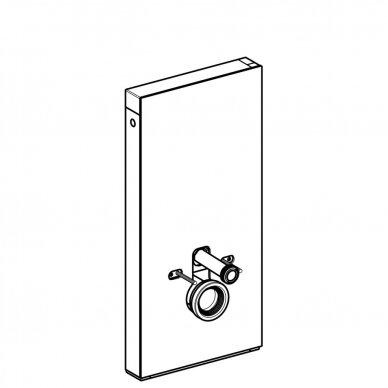 Pakabinamo WC modulis Geberit Monolith, 101 cm (įv. spalvų) 5