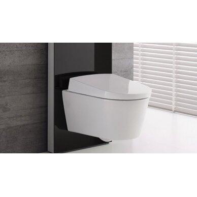 Pakabinamo WC modulis Geberit Monolith, 101 cm (įv. spalvų) 4