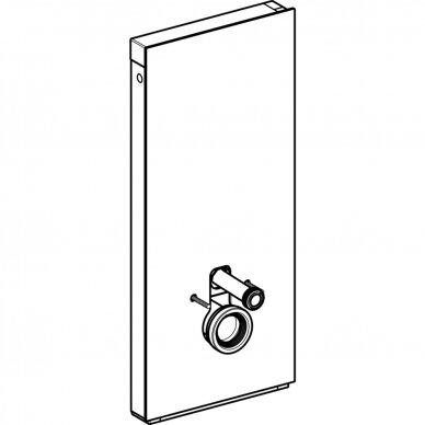 Pakabinamo WC modulis Geberit Monolith, 114 cm (įv. spalvų) 5