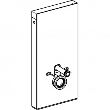 Pakabinamo WC modulis Geberit Monolith Plus, 101 cm 4