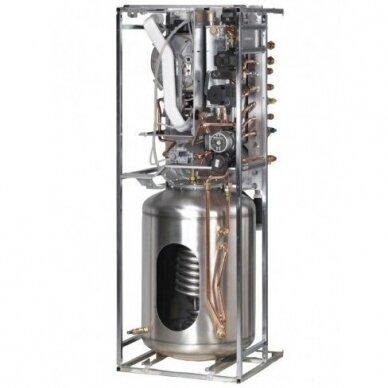 Pastatomas dujinis katilas HERCULES CONDENSING 26kW 3 ErP su 120l vandens kaupikliu, IMMERGAS 2