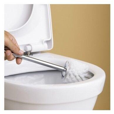 Pastatomas Gustavsberg Nautic Hygienic Flush su dangčiu 4