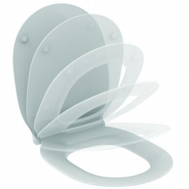 Pastatomas klozetas Ideal Standard Connect Air Aquablade su Soft Close dangčiu 6